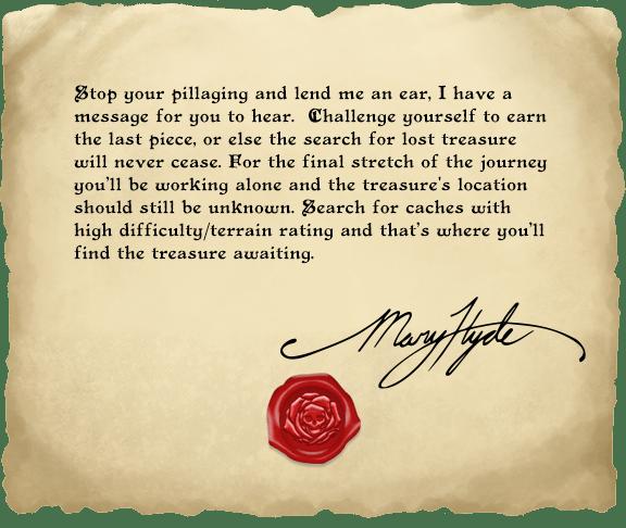Pátý dopis pirátky Mary Hyde