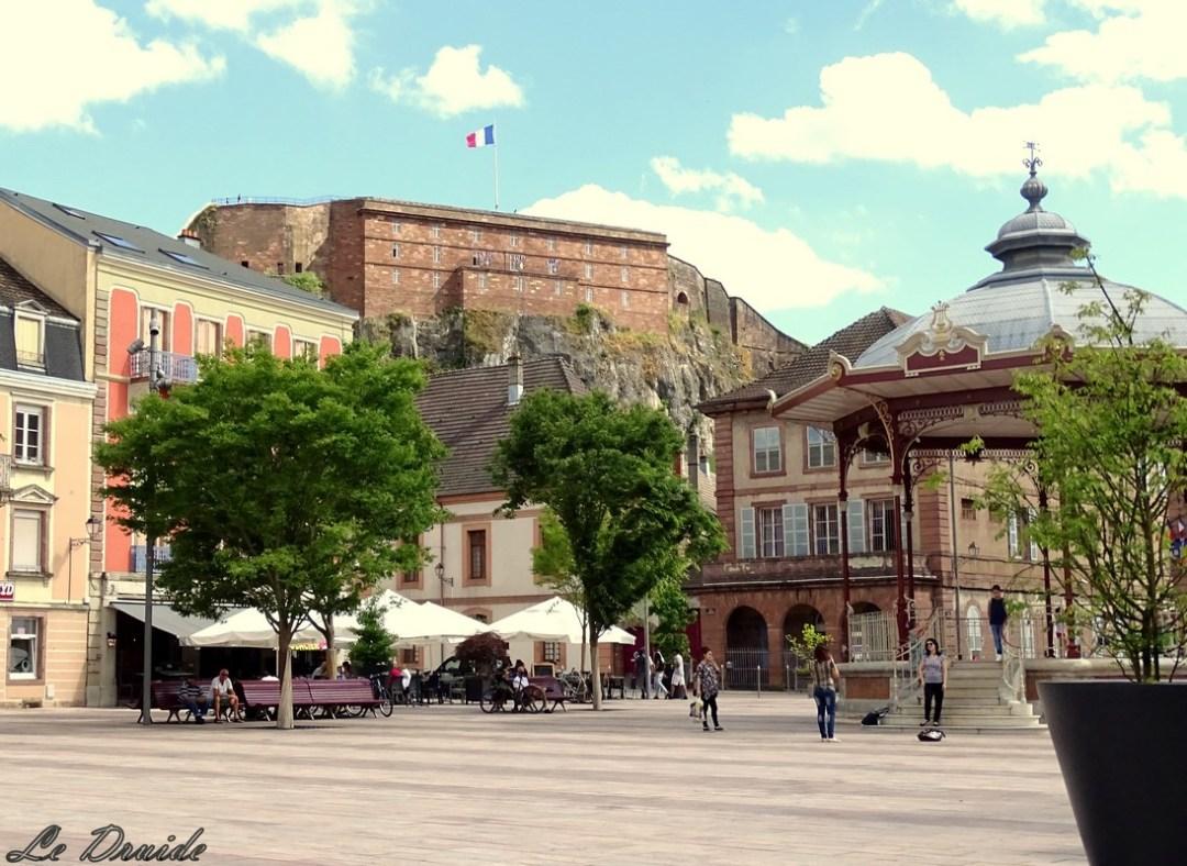 place d'armes de Belfort(Copier)