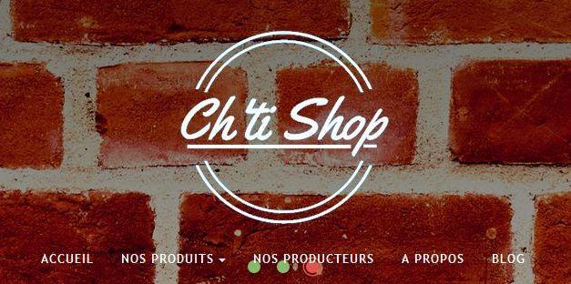 E-commerce sur les produits du Nord : Ch'ti Shop