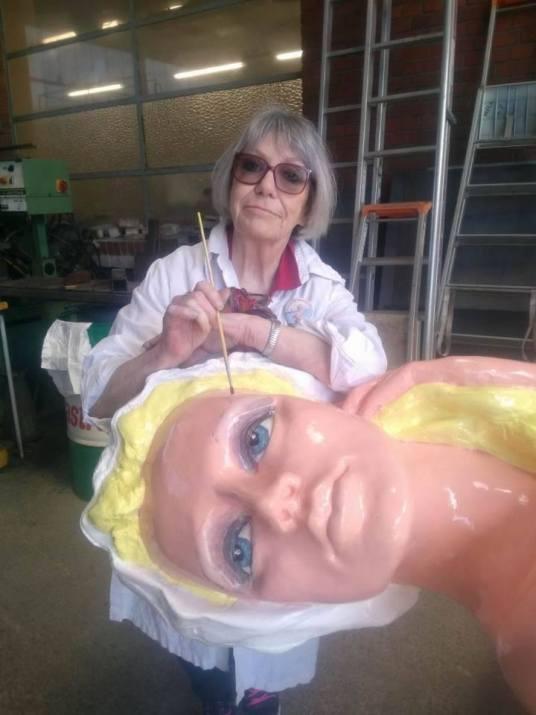 Chantal Huyge Tiprez, la Maquilleuse...