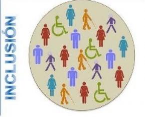 Inclusion : C'est ce qui se passe quand des personnes en situation de handicap vivent parmi les « valides » dans la société en autonomie accompagnées selon leur souhait, en fonction de leurs besoins.