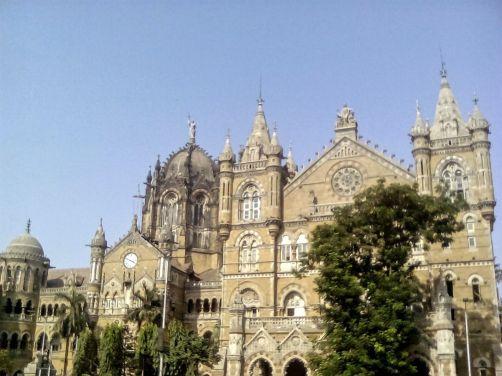 batiment anglais bombay mumbai inde