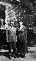 Grandpa and Grandma before the war.