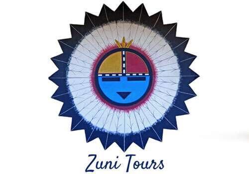 Zuni tours kachina logo