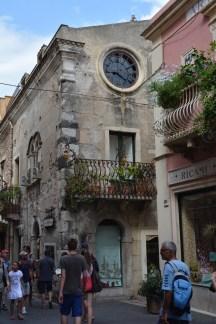 Taormina, celui à l'horloge