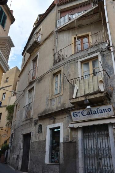 Taormina, les délaissés