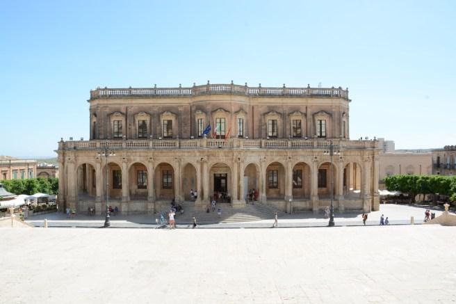 palazzo Ducezio, actuel hôtel de ville