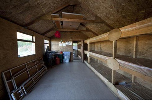 Ashness Hut Interior