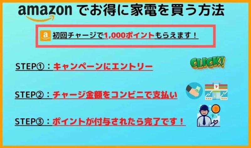amazonでお得に家電を買う方法