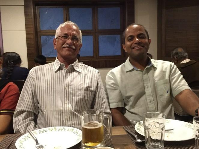 Baba in restaurant Ketan Sharad Deshpande Minnesota