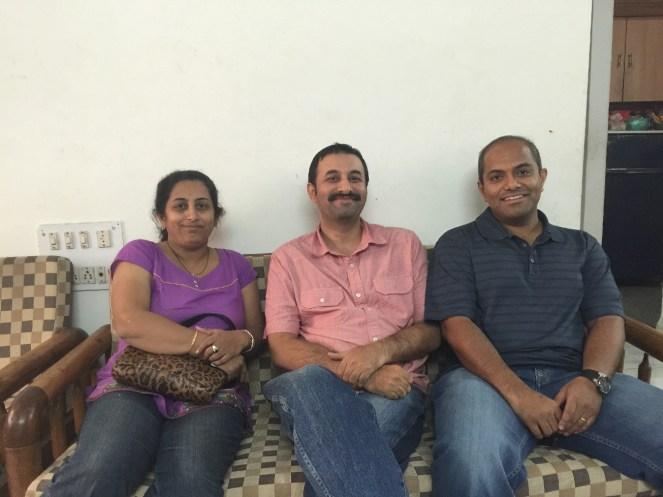 Cousin Ashutosh and Ketan Deshpande in Pune