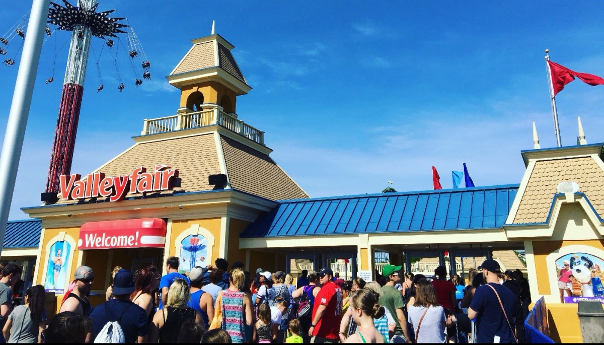 Awesome summer family fun at Valleyfair