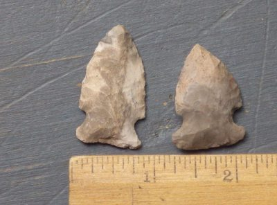 Archaic Side Notched Points