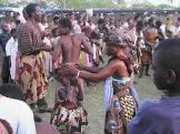 Cultural troupe displaying the local dance