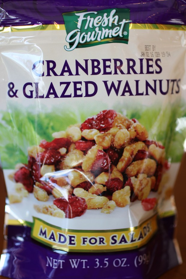 Cranberries Walnuts