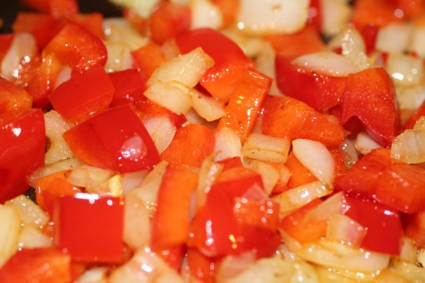Sauteed Peppers and Onion