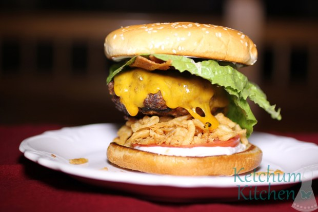 Western Barbecue Bacon Cheeseburgers