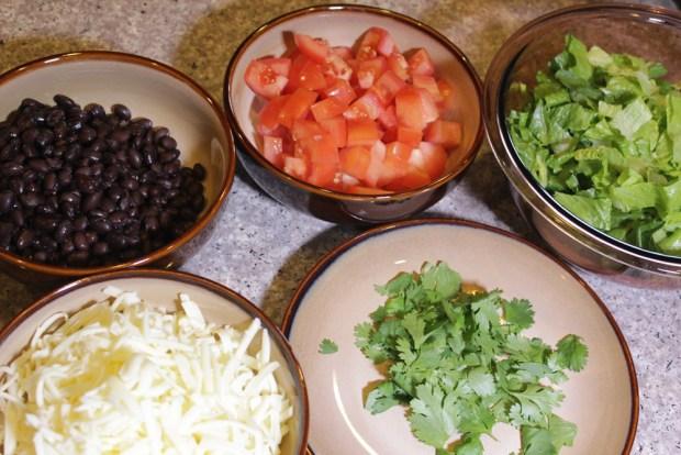 Burrito Bowl Fillings