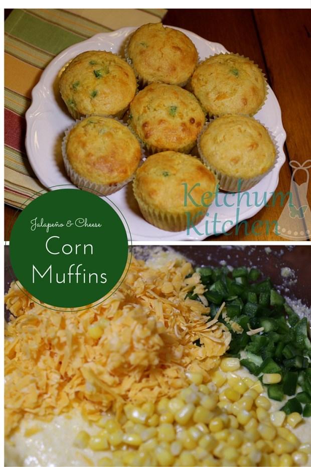 Jalapeño Cheese Corn Muffins