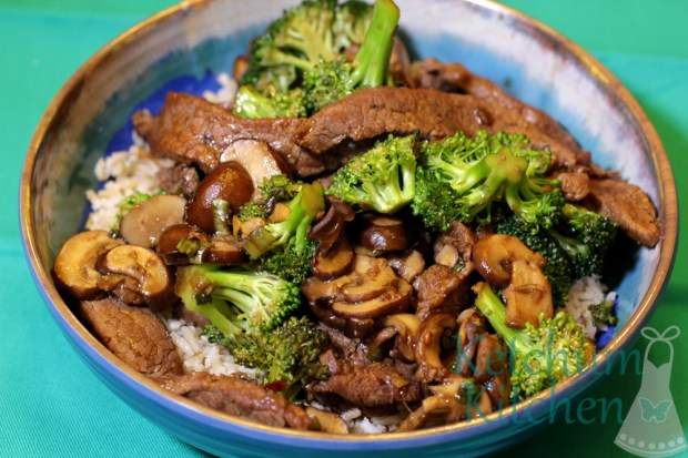 Stir Fry Beef with Broccoli