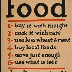 Food Poster from WWI