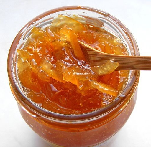 a jar of marmalade