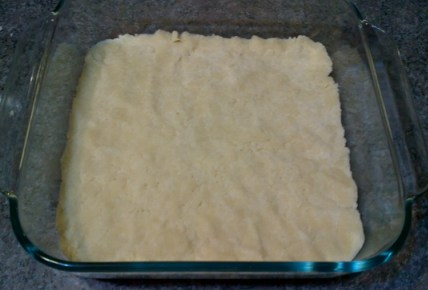press into pan