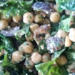 Kale, Fig and Chickpea Salad