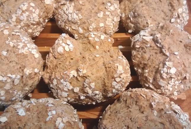 Individual Irish Soda Bread Loaves