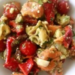 Meatless Monday: Tortellini Salad with Avocado and Feta