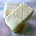 Lemon Ice Cream Bars with White Chocolate
