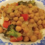 Honey Lemon Chili Chickpeas