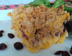 Meatless Monday: Butternut Cranberry Pasta Bake