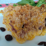 Butternut Cranberry Pasta Bake