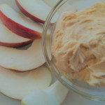 Meatless Monday: Three Ingredient Peanut Butter Dip (for lunch or snacks)
