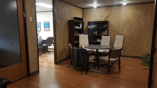 Diamond buyer secure office