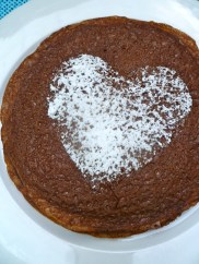 Chocolate Crêpe with Heart © KETMALA'S KITCHEN 2012-13