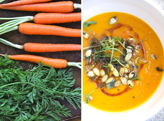 Cozy Carrot Ginger Soup @KetmalasKitchen 2015