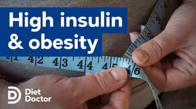 High insulin comes before obesity according to a new study