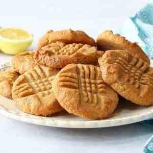 Keto 5 Ingredient Lemon Cookies