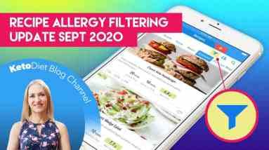 Keto Diet App - Filter Recipes Based on Allergies, Categories & More - [iOS 12.36]