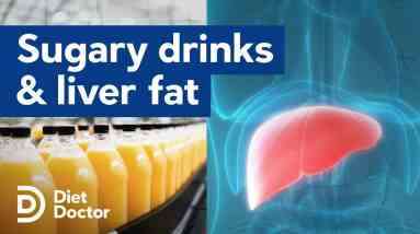 Sugar-sweetened drinks increase liver fat