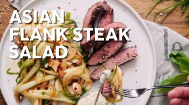 Asian Flank Steak Salad