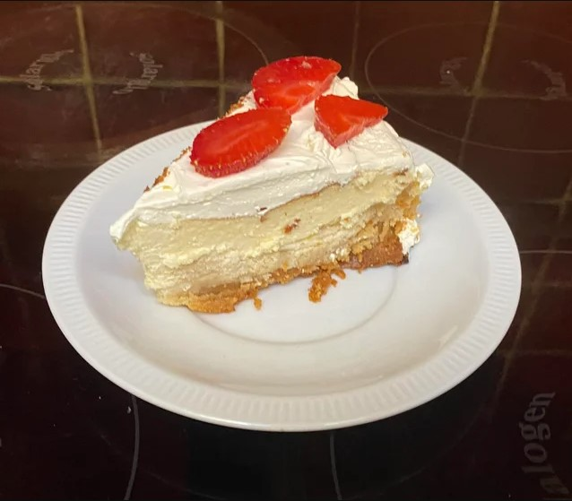 New York Baked Low Carb Cheesecake