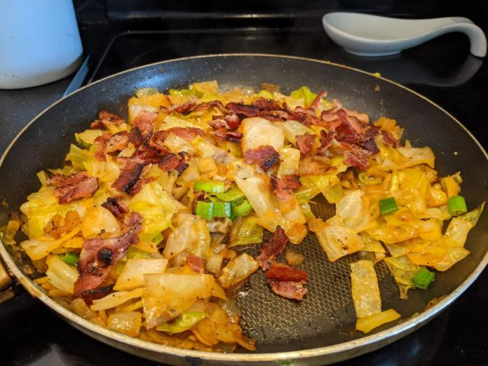 Low Carb Southern Fried Cabbage