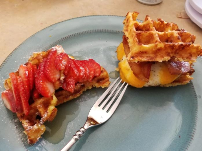 Chaffles, Two Ways