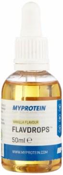 MyProtein Vanilla Flavdrops