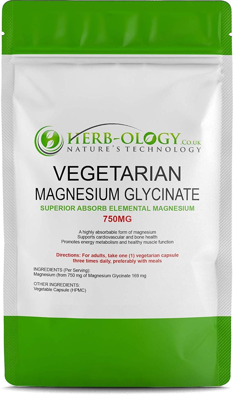 Magnesium Glycinate 750 mg High Absorb Vegetarian Elemental Magnesium Price in Pakistan |