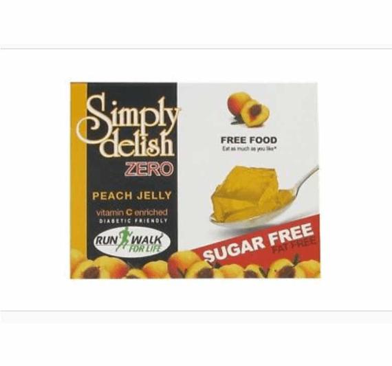 Simply Delish ZERO Jelly Mix - Peach 8g Price in Pakistan