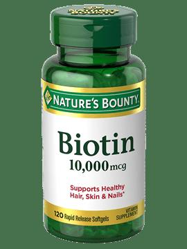Nature Bounty Biotin 10,000 mcg 45 Softgels Price in Pakistan